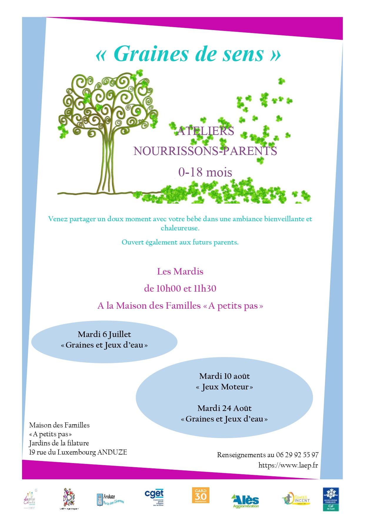 """Atelier Nourrissons/Parents (0-18mois) """"Jeux Moteur"""""""